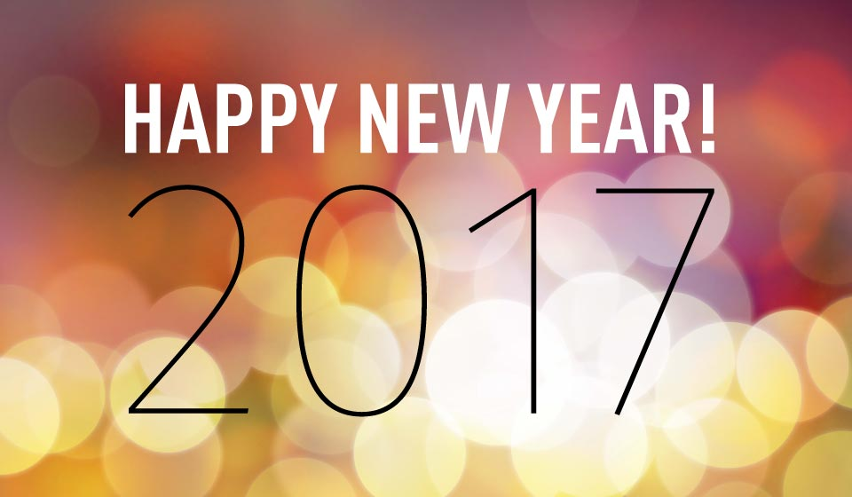 Happy 2017 from Blum Electric